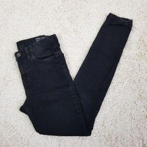 Madewell Skinny Skinny High Riser Jeans in Black